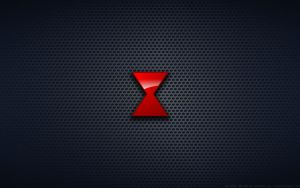 Wallpaper - Marvel's Black Widow Logo by Kalangozilla
