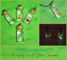 Glow in the Dark Firefly Jars by YellerCrakka