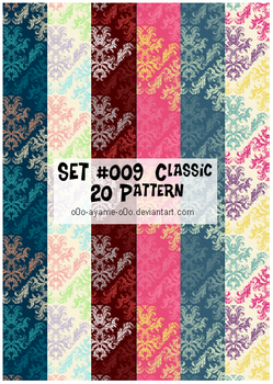 PATTERN SET 009 - Classic by AndreeaArsene