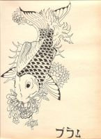 japanese koi fish by sweetpandemoniumx19