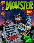 Monster Ink Tattoo Flash Cvr by MonsterInk