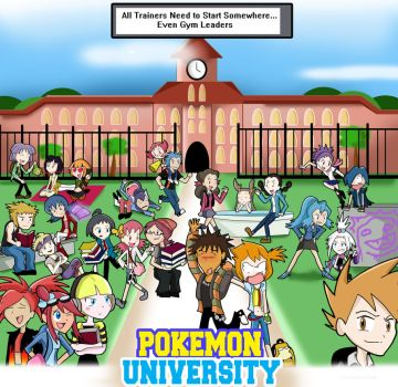 Pokemon University by xeternalflamebryx