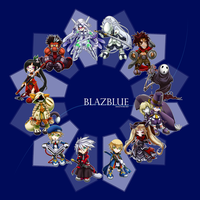 BlazBlue - Chibi Select by ghostfire