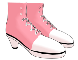 MMD Converse Heel Shoes by mbarnesMMD