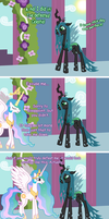 One does not simply beat Celestia by Keta97