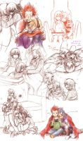 Warmth (KH sketches) by Medli45