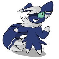 Meowstic is ready for action! by Hikara-the-Mienshao