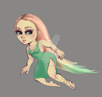 Adoptable painting strawberry by GalacticGraceArtwork