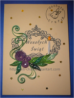 Quilling - card 119 by Eti-chan