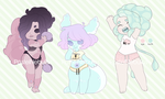 Koninui Adopts | Batch 10 | 1/3 OPEN by Cybambie