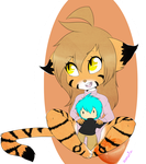 .:FANART:. Flora cheeb with Trace plush!:. by Zakyria
