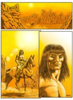 conan sequential page .01 colored by bek76