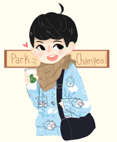 Chanyeolll by Lolibeat