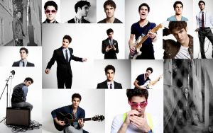 Darren Criss Collage by LetTheInsanityBegin