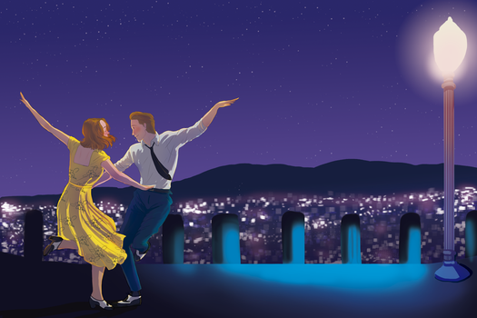 Congratulations  to La La Land by downtheartsyhollow