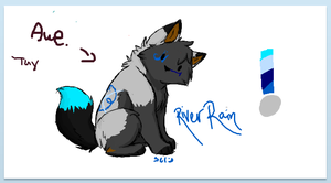 River Rain Ref by StarVampiress13