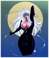 Black Cat Scat by pyawakit