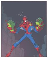 Spider-Man trading card 2 by TimTownsend