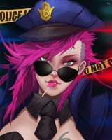 OFFICER VI by Nine-Bullet-Revolver
