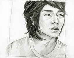 Sketching Attempt- Lee Junki by Dimaa