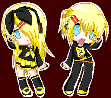.:: reject twins ::. by Karin-omoine