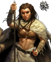 Female Dwarf-render by shiroyama-chan