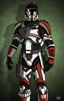 Old Republic trooper by SmacksArt