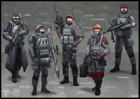 Soldier Concepts 02 by Sarqful