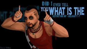 Far cry 3 Vaas Montenegro by SP-hera
