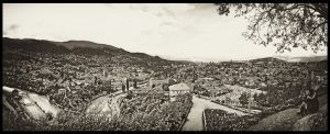 Looking at Sarajevo by easwee