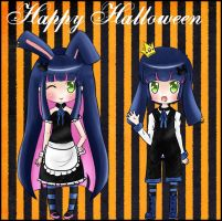 Happy Halloween ft. Stocking by Jhordee