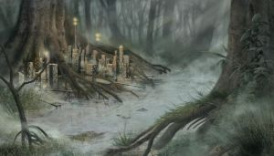 Swamp City by theoryC