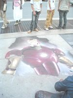 Streetart Iron Man by Neville6000
