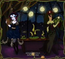 Pixie Scene Maker: Fairy Disagreement by AzaleasDolls