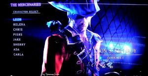 Leon Kennedy new outfit RE6 Mercenaries. by Sparrow-Leon