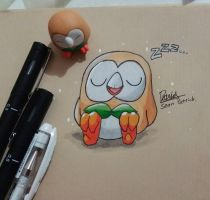 Sleepy Ball-Thing. by Ppoint555