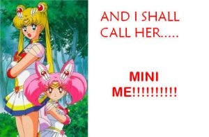 And I shal call her mini me xD by HazuHazuChan