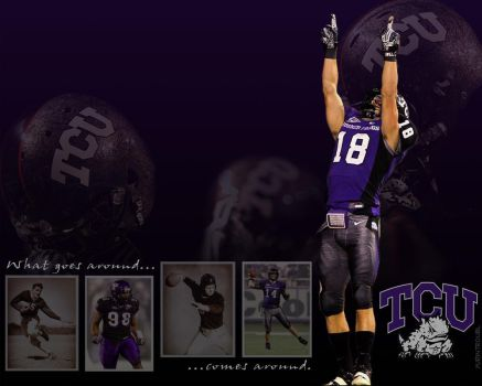 TCU Football: What Goes Around by yurintroubl