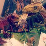 Carnivores eating triceratops by balto123