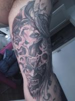 freehand cover up tattoo by mumitrold
