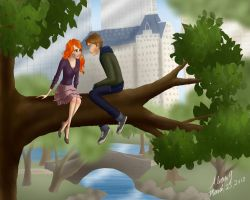 Central Park by Whisperwings