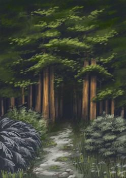 Forest by Fli-nn