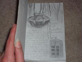 TARDIS journal-page 2 by DragonsAndDreamscape