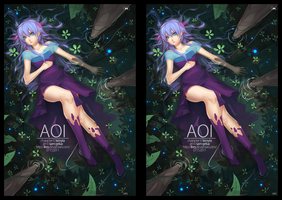 Stereoscopic: Cross Eye 'Aoi' by lires