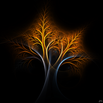 A Tree of Fire and Ice by Nirolo