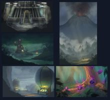 Speed paintings 5 by JoshHutchinson