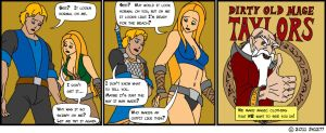 WoW Characters Comic Strip 08 by jw1277