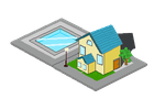 isometric  House by lahabz