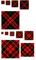 Oblique Scots Plaid GIMP .pat by 1389AD