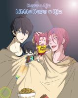 Haru x Rin The little Haru x Rin by HaNo0onat